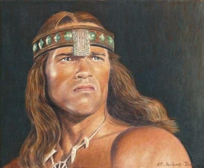 Arnold Schwarzenegger par KOKORIKO
